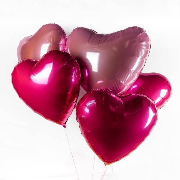 "Bunch of balloons ""Heart"""